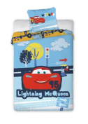 Children's Bed Linen 2-Piece Set 100x135 40x60 Disney 900 Cars