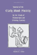 Journal of the Early Book Society Vol. 19