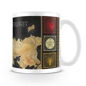 Game of Thrones Map Mug