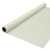 Party Essentials Plastic Banquet Table Roll Available in 27 Colours, 100cm x 30m, Ivory