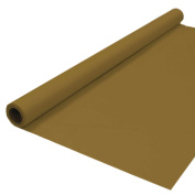 Party Essentials Plastic Banquet Table Roll Available in 27 Colours, 100cm x 30m, Metallic Gold