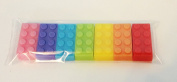 7 x LEGO BRICK SOAP RAINBOW GIFT SET