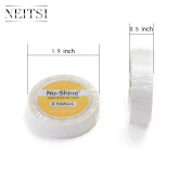 Neitsi 1pc 1.27cm*3Yard Double-Sided No Shine Bonding Walker Tape Roll