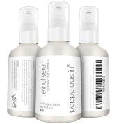 Retinol Serum by Poppy Austin® - DOUBLE SIZED 60ML - 2.5% Retinol, Vitamin E, Hyaluronic Acid & Organic Jojoba Oil - Best Anti Ageing Serum for Face, Neck & Under Eye Wrinkles 2016