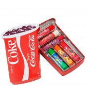 Coca Cola by Lip Smacker 6 Piece Coca Cola Cup Tin