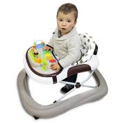 Monsieur Bébé ® Baby walker scalable, musical, foldable and height adjustable - Standard NF EN 1273