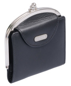 Avanco Women's Leather Snap Purse 10 x 10 x 1,5 cm