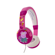 New Folding Model - Peppa Pig Children's Folding Headphones for ages 3-7 Years