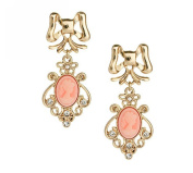 Hosaire 1 Pair Fashion Elegant Women Girls Jewellery Beauty Head Earrings Stud Clip For Holiday Gifts
