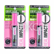 5 x Maybelline Real Impact Mascara Brownish Black 252