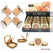 24 x Luxury Face Powder with Mirror 4 Different Shades Big Size Wholesale UK