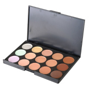 SupplyEU 15 Colours 3D Radiance Concealer Makeup Palette Kit