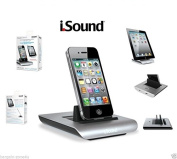 iSound Charging Dock for Iphone Ipad Ipod - for iPhone 4 / iPhone 4S / iPhone 3GS / iPhone 3G / iPod Touch (4th generation) / iPod Touch (3rd generation) / iPod Touch (2nd generation) / iPod Touch (1st generation) / iPod Nano (6th generation) / iPod Na ..