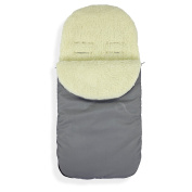 Universal Baby Stroller cosytoes Liner Buggy Padded Luxury Footmuff ( Wool )
