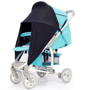 iSafe Sunny Sail - Black For Hauck Speed Sun Plus Stroller