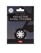 Pogu Reflective Wheel Stickers - Stars