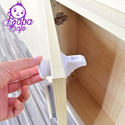 Magnetic Cupboard locks from BabaSafe for Cabinet and Drawers. Latest in baby and child safety - 8 locks and 2 keys