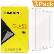 [3-PACK] - SUMOON Galaxy J3 Tempered Glass Screen Protector -- [2.5D Round Edge] [99% Clarity] [Bubble Free] With Maximum Touchscreen Accuracy /Guard Against Scratches and Drops