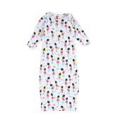 Piccalilly Organic Cotton Multicoloured Unisex Marching Band Nightgown