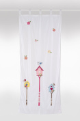 Kids curtain 'birdhouse'