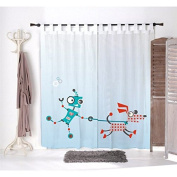 Pair of net curtains