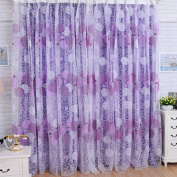Ecarton Bird's Nest Sheer Curtains Voile Curtains Sheer Curtains for Door, Window, Living and Bedroom 37.5*24m