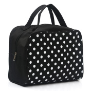 Ouneed ® Cosmetic Bag Travel Dot Printed Makeup Toiletry Case Pouch