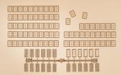 Auhagen 48650 Mullion Windows/Doors Modelling Kit