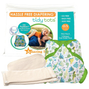 Tidy Tots Nappies Hassle Free 2 Nappy Dinosaur Cover