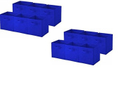 Sorbus Collapsible Storage Cube | Nonwoven Polypropylene and Cardboard