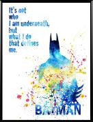Aprilskys Workshop 28cm X 36cm Superhero Batman Canvas Painting Print Boys Room Girls Room Kids Décor Nursery Decor Art Print Wall Decor Home Décor Office Décor Room Deco Inspirational Wall Art Gift A1007