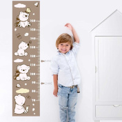Juju & Company Sticker Cartoon Bear And Butterfly LCE Up To 160 cm Brown