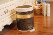 Foot Trash Cans Bouncing European Double-layer Trash Cans Fashion Creative Storage Barrels
