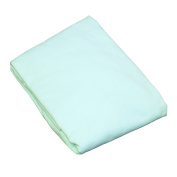 L.A.BABY 3009-MT Knitted Fitted Sheet For Full Size Crib Natural 100% Cotton Fabric- Mint