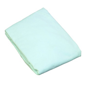 L.A.BABY 3004-MT Knitted Fitted Sheet For Compact Crib Natural 100% Cotton Fabric- Mint
