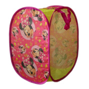 Pop Up Laundry Basket Folding Polyester 35 x 35 x 51 cm Disney Minnie Mouse Minnie Mouse