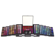 """Ivation All-in-One Makeup Kit Gift Set – Contains Truly Vast Collection of Eyeshadows, Blushes, Powders, Eyeliners, Lip Glosses & More – Folds Out from 4.72"""" x 5.51"""" x 14cm Cube"""