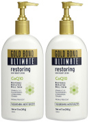 Gold Bond Ultimate Restoring Skin Therapy Lotion with CoQ10 - Naturally Fresh - 380ml - 2 pk