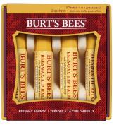 Burt's Bees Beeswax Bounty Holiday Gift Set, 4 Lip Balms in Gift Box, Classic