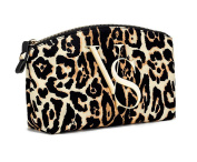 Victoria's Secret Leopard Cosmetic Bag