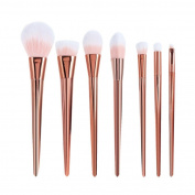Sankuwen 7 Pcs Professional Powder Cosmetic Makeup Brush