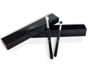Eyeshadow Blending Brushes 2 (pc) Best Eyeshadow Brush Set – With Crease Brush and Smudge Brush for Eye Makeup Application