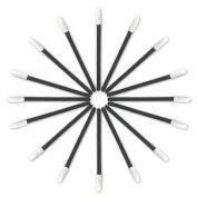 KingMas 100 Pcs Disposable Lip Brush Lipstick Gloss Wands Applicator Perfect Make Up Tool