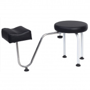 Giantex Pedicure Station Chair Manicure Reflexology Spa Salon Equipment w/ Foot Rest