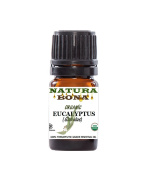 Eucalyptus Essential Oil Globulus Organic, 5ml. Therapeutic Grade 100% Pure Eucalyptus Oil