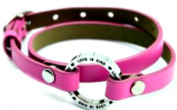 Love is Patient Love is Kind Leather Wrap-a-Round Leather Bracelet/ Pure Essence Diffuser Bracelet/ Aromatherapy Bracelet