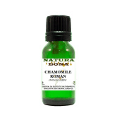 Natura Bona Therapeutic Grade Chamomile Roman Essential Oil Prediluted in Organic Jojoba Oil; 10ml