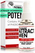 PhermaLabs Feromonas Body Spray para Gay Hombres- 30ml - Atraer Hombres instantáneamente- Mayor Concentración De Feromonas Posible- Aumenta El libido- y Aroma fresco de larga duración