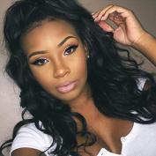 Ten Chopstics Human Hair Wigs For Black Women Lace Front Brazilian Virgin Hair Wigs Body Wave Natural Baby Hair in Stock