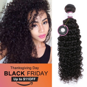 Brazilian Virgin Hair Curly Weave 70cm Natural Black Unprocessed Remy Human Hair Extensions